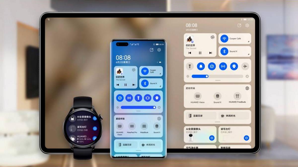 Huawei annuncia una nuova versione di HarmonyOS che a breve sarà disponibile per il mercato asiatico