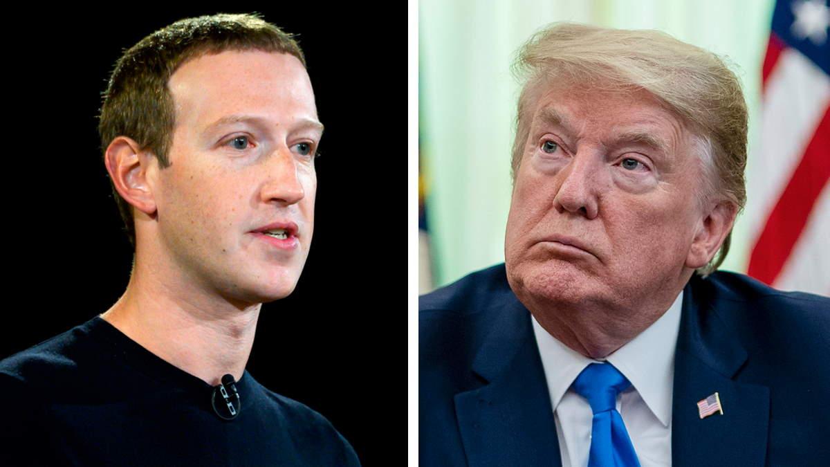 Facebook ha deciso di sospendere l'accesso ai suoi social da parte di Trump fino al 2023