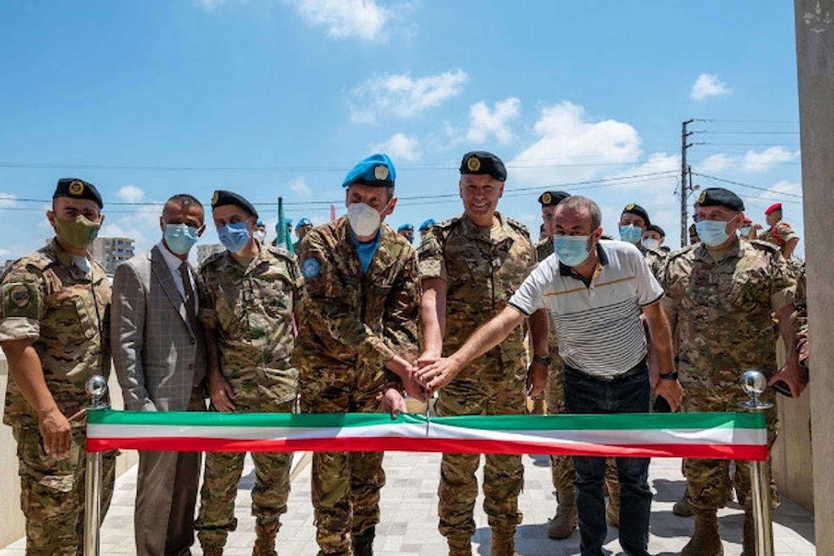 Libano, i militari italiani ristrutturano centro medico per le Forze Armate libanesi