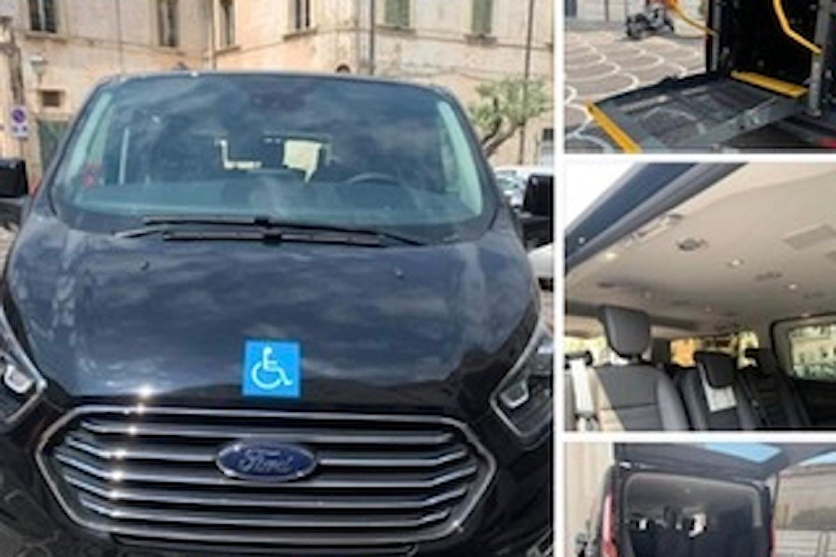 Ditta Di Cesare Edmondo di Collecorvino: nuovo mezzo trasporto disabili a Pianella