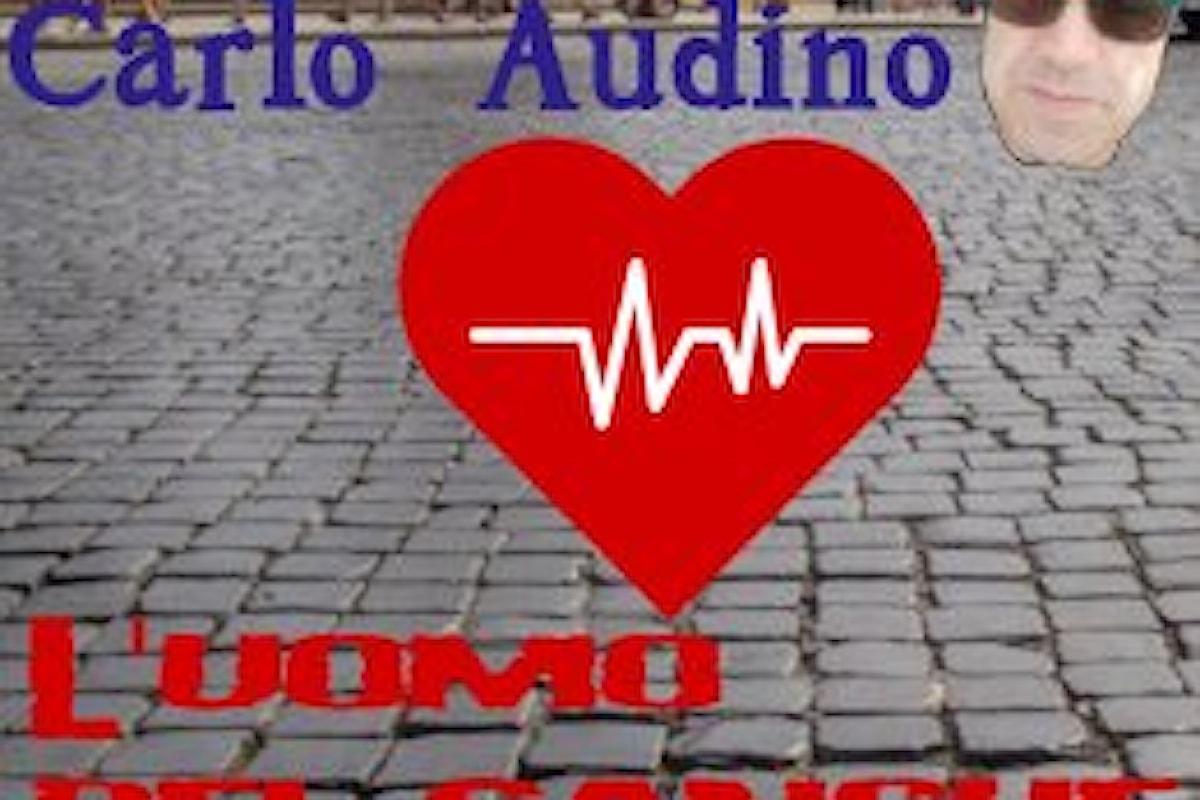 """CARLO AUDINO, """"L'uomo del sangue"""" è il nuovo singolo del chitarrista e cantautore romano dedicato a tutti i donatori"""