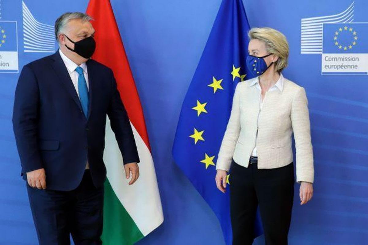 Ursula von der Leyen ricorda i principi dell'Europa che Orban e i suoi amici non riconoscono
