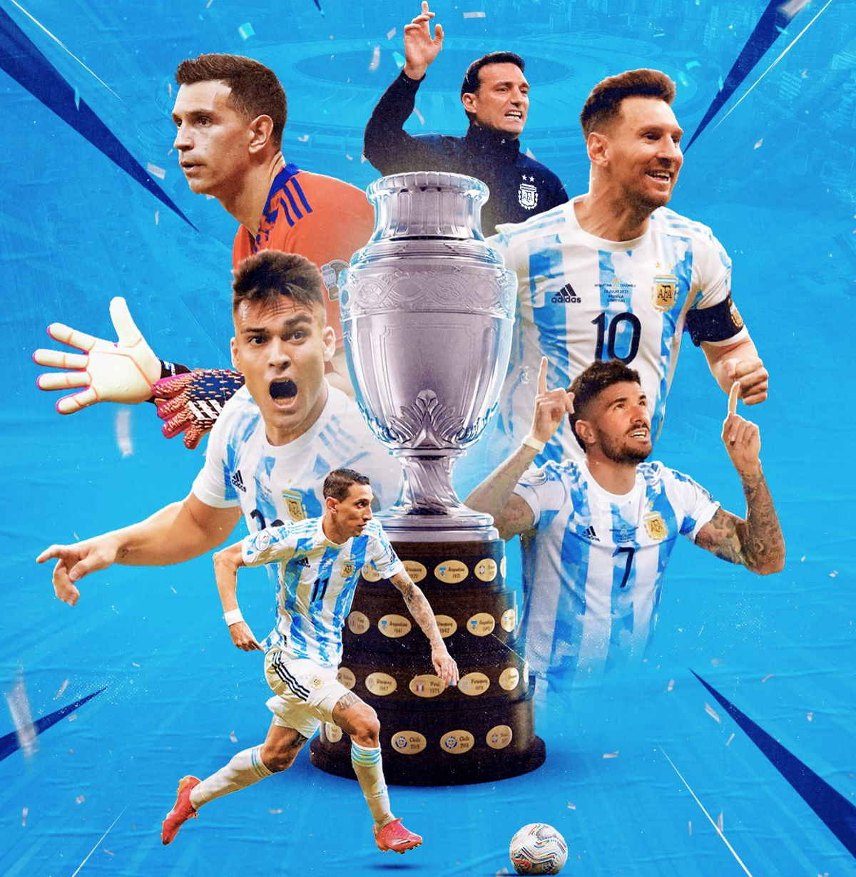 Copa América 2021, l'Argentina batte il Brasile 1-0 e dopo 28 anni torna a vincere un trofeo