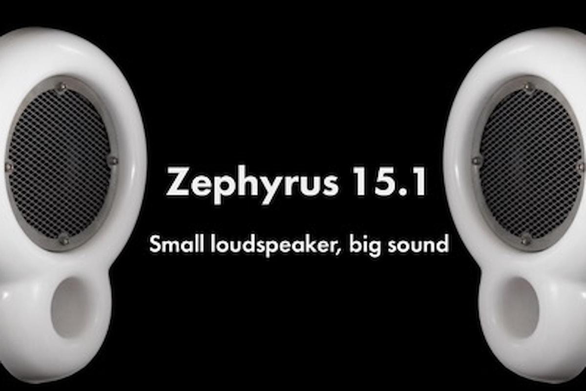 Pequod Acoustics: ecco Zephyrus, l'Hi-Pro Audio per spazio