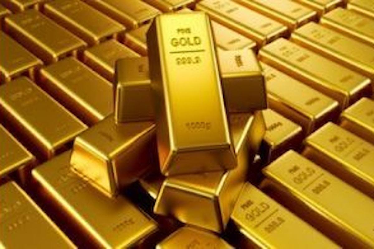 Commodities, l'oro è tornato oltre i 1800 ma gli manca lo spunto