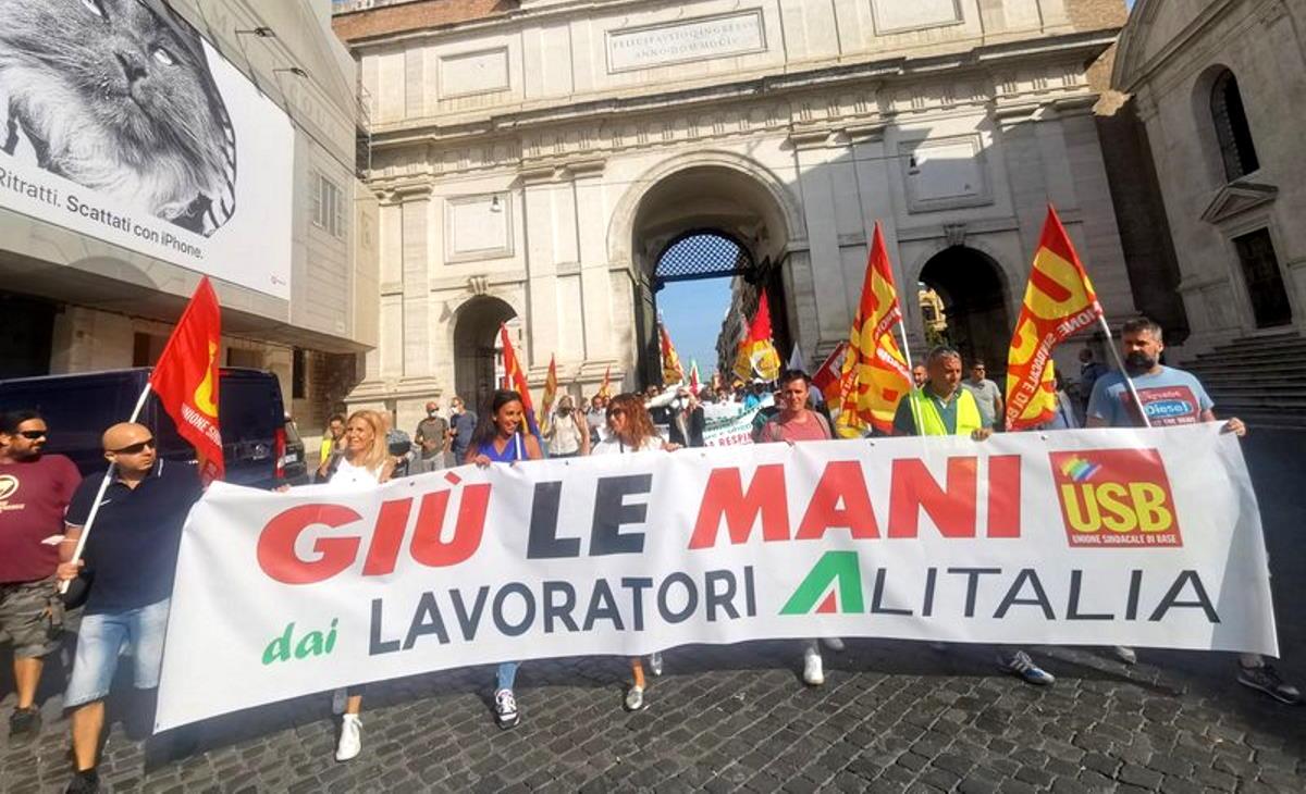 ITA, la protesta dei sindacati adesso riguarda anche il Governo