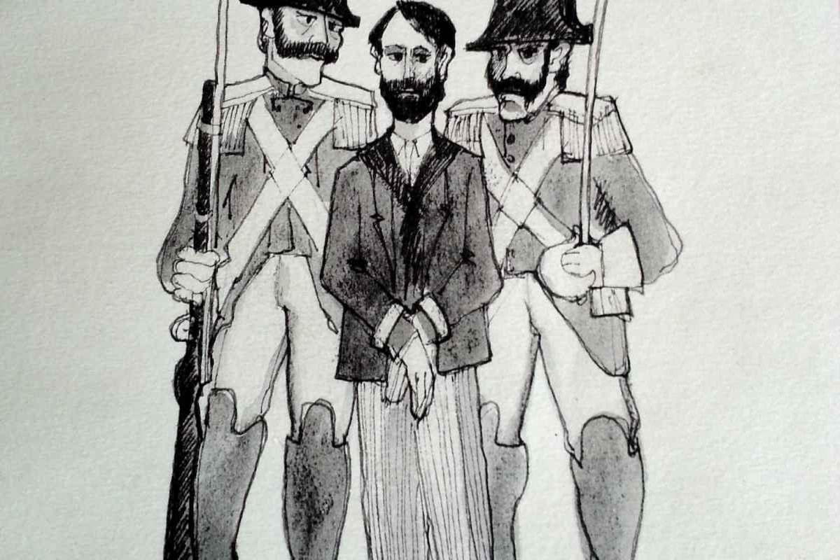 Ceccardo Roccatagliata Ceccardi e il volume Dai paesi dell'Anarchia, sui moti del 1894