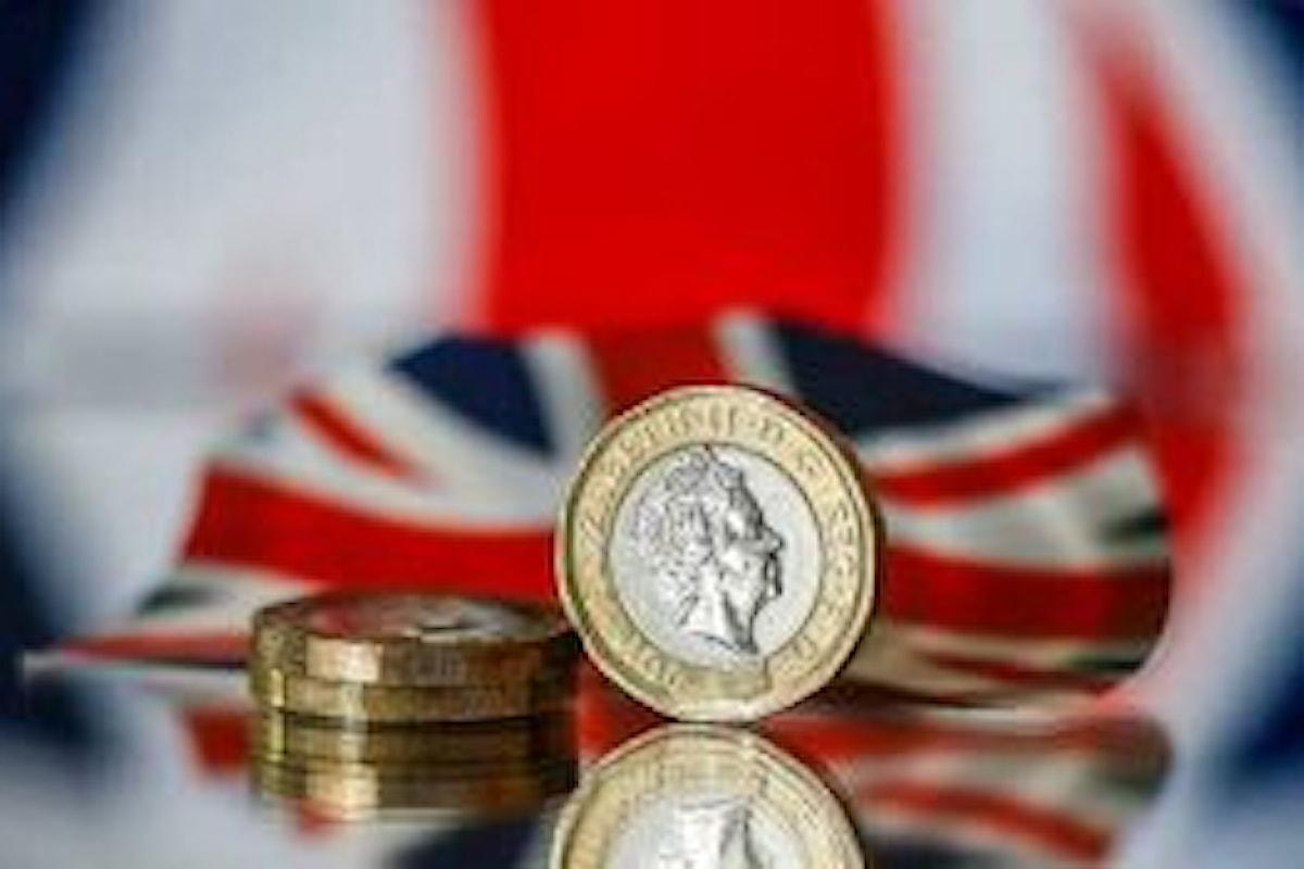 Prezzi al consumo, crescita al top da 9 anni nel Regno Unito