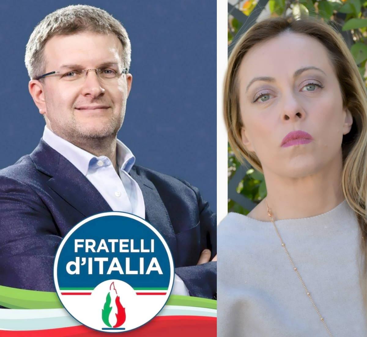 Fratelli d'Italia e la lobby in nero di Milano su cui la Meloni deve chiarire