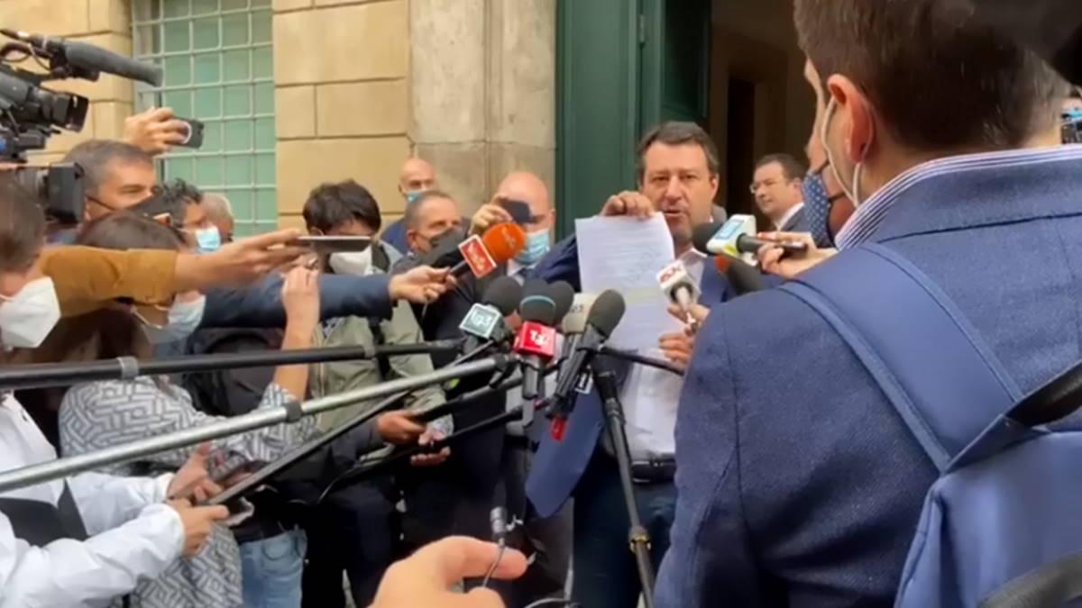 Salvini: La casa degli italiani non si tocca e non si tassa. Questa la risposta di Draghi...