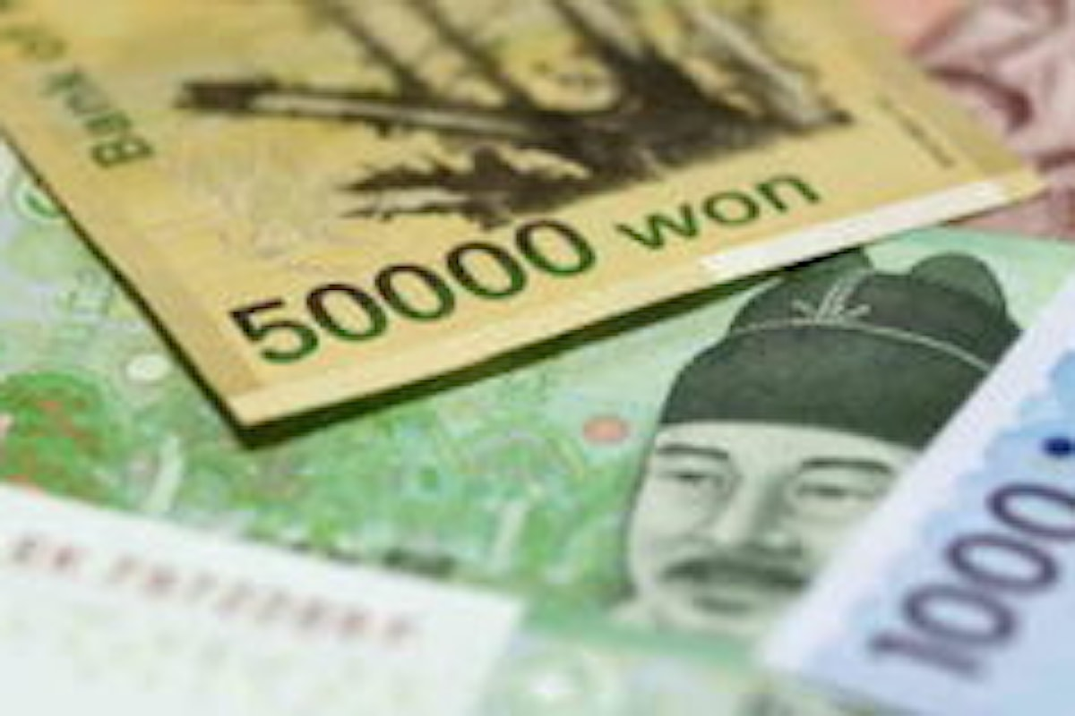 Inflazione in crescita, la Bank of Korea preannuncia una stretta a novembre