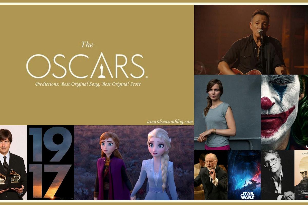 Quali sono le 7 migliori canzoni e colonne sonore più quotate per entrare nella corsa agli Oscar 2020?