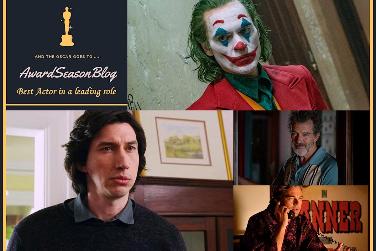 Quali sono gli attori che hanno più chance di conquistare la nomination agli Oscars 2020? (previsioni dicembre)