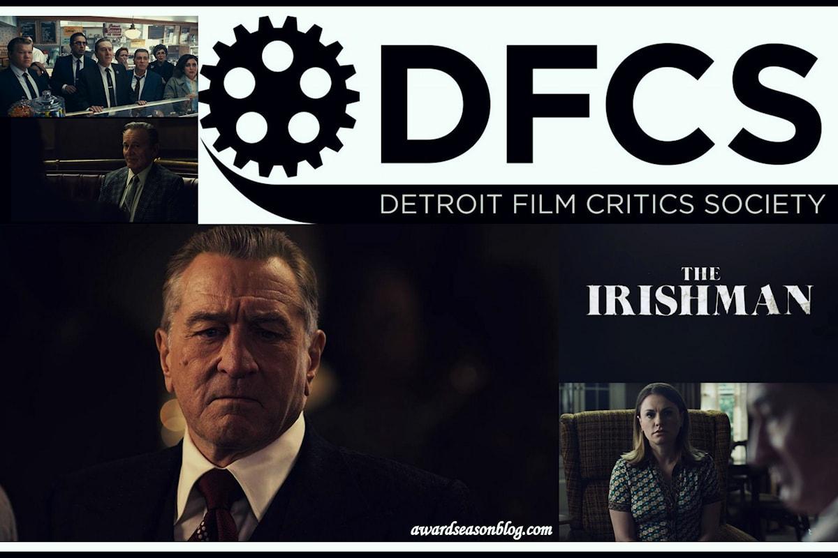 The Irishman targato Netflix conquista 7 nominations ai Detroit Film Critics Society Awards 2019
