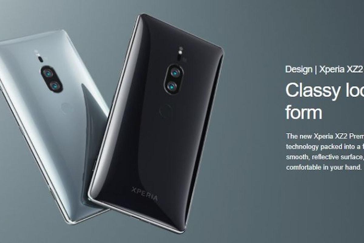 Sony Xperia XZ2 Premium è stato presentato ufficialmente: un top di gamma che ha praticamente tutto quello che serve