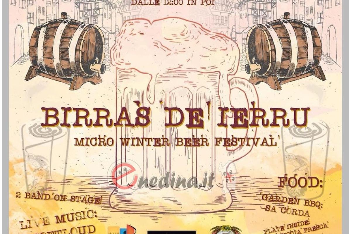 Quando la birra va bene anche d'inverno: Birras de Ierru