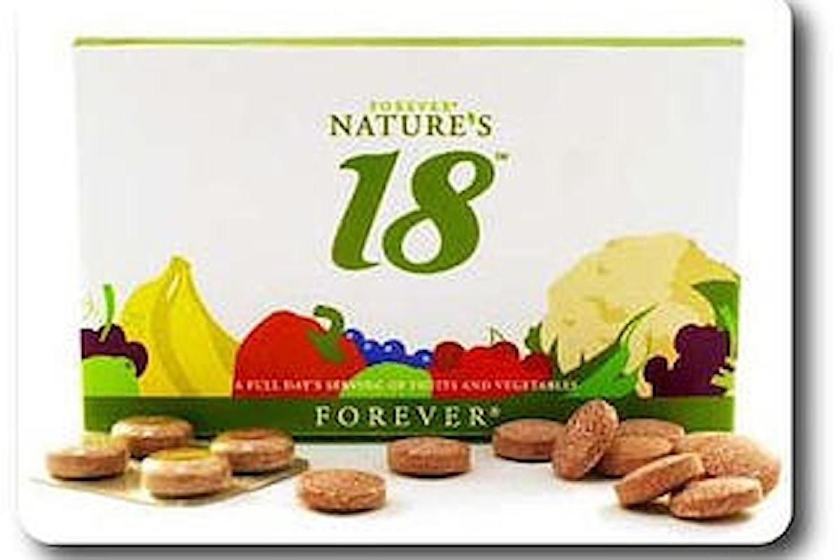 Forever Nature's 18 - aloe vera gel