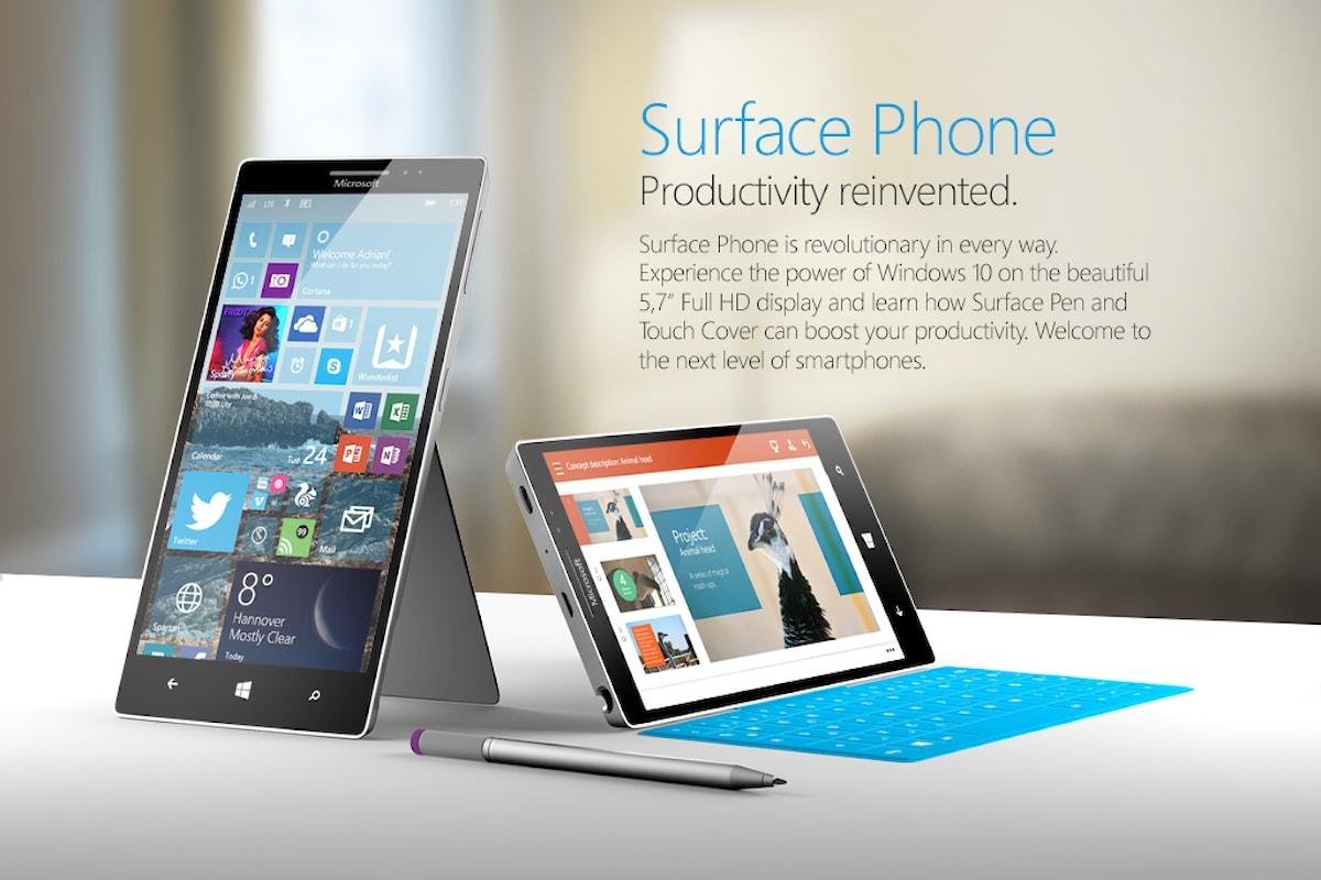 Ecco come vorrei il mio Surface Phone | Surface Phone Italia