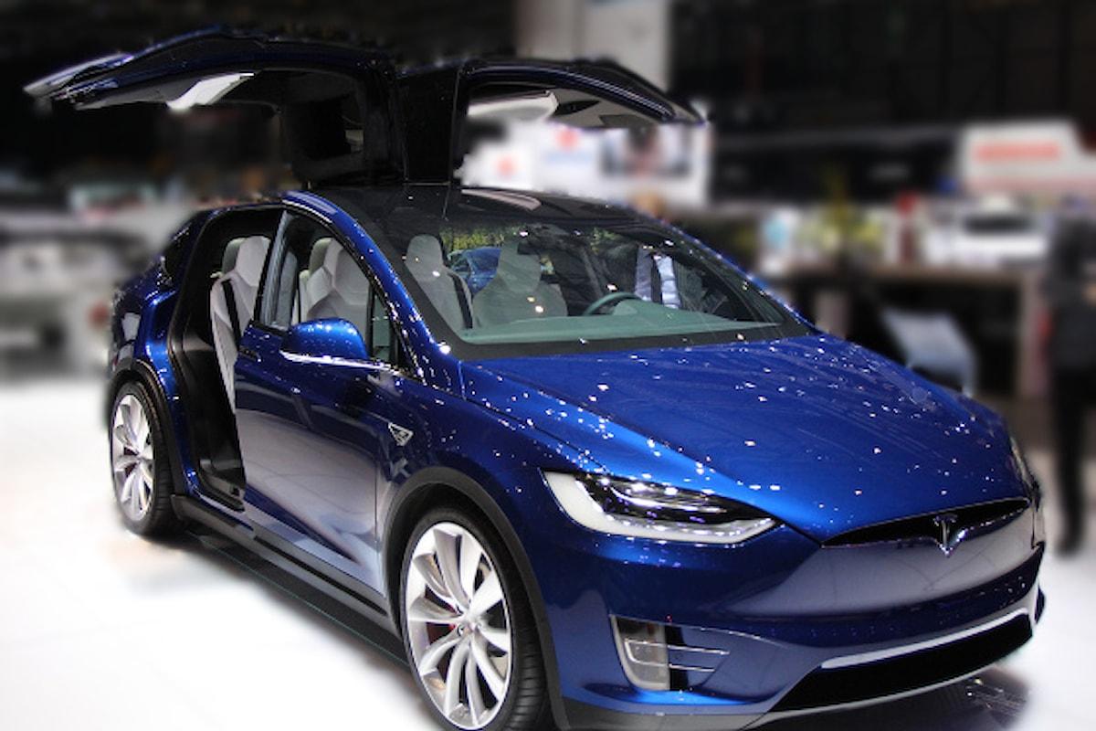 Model X presente anche al Salone di Ginevra 2016