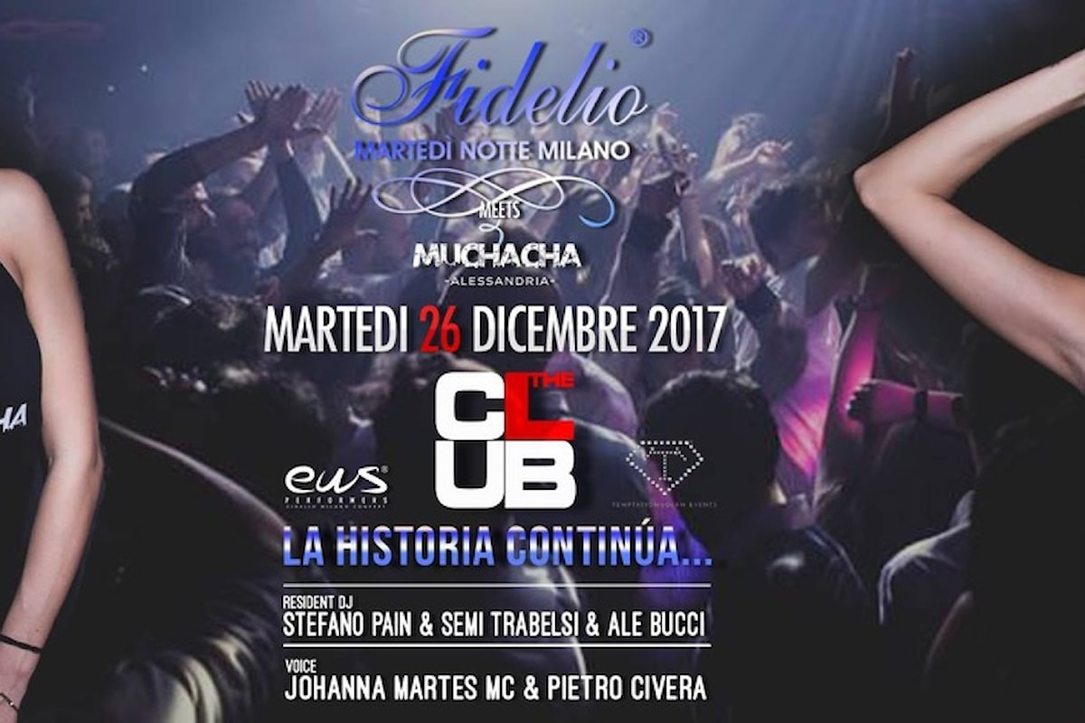 26 dicembre, Fidelio Milano @ The Club Christmas Party