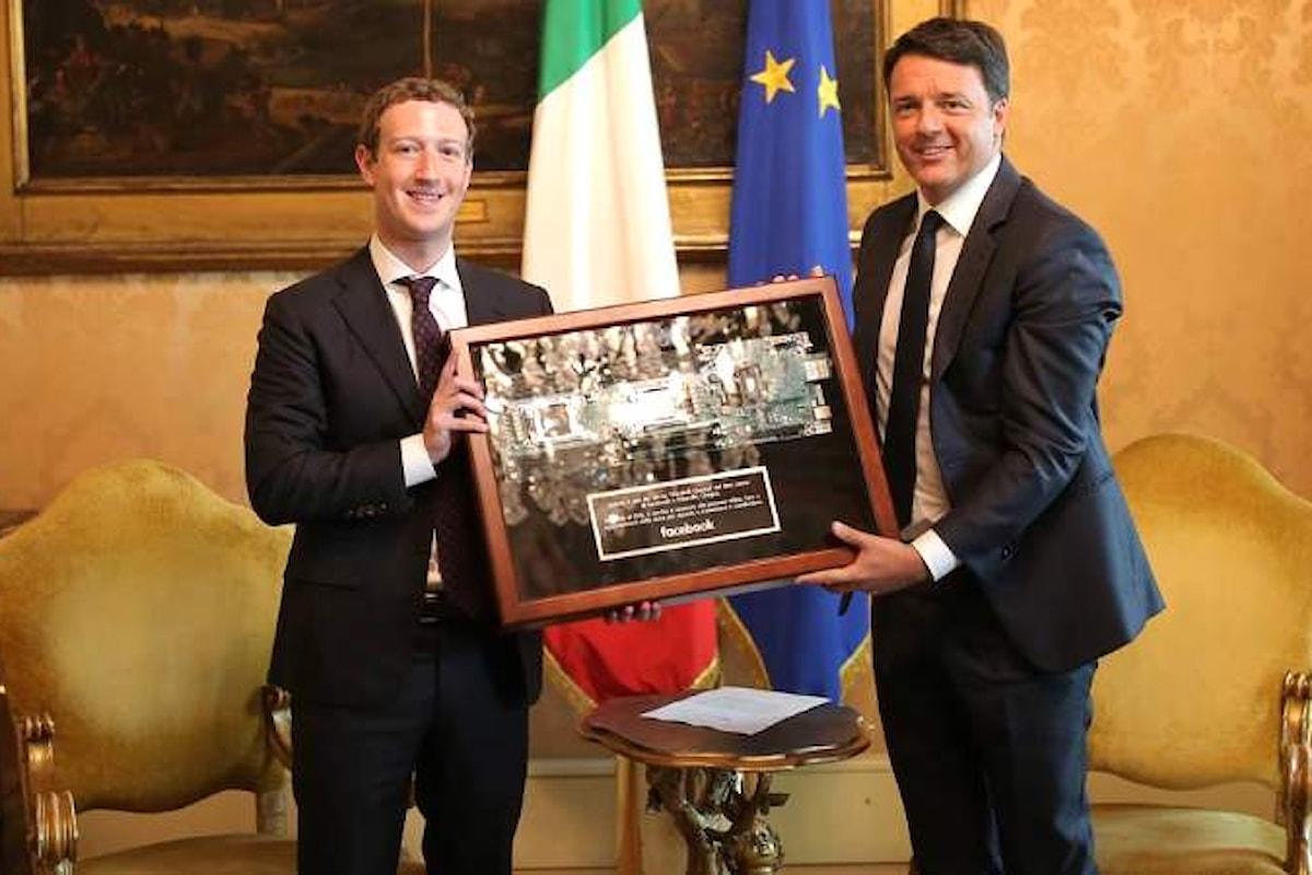 Zuckerberg in Italia. Perché non dedicare all'evento una festa nazionale?