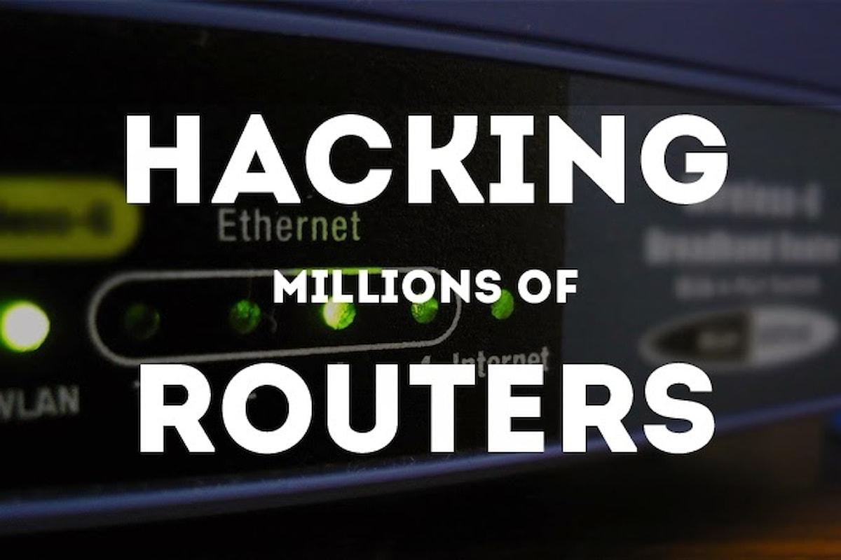 Vulnerabilità router