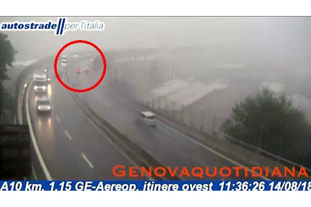 Il complottismo coinvolge anche il crollo del ponte Morandi che sarebbe stato fatto saltare!