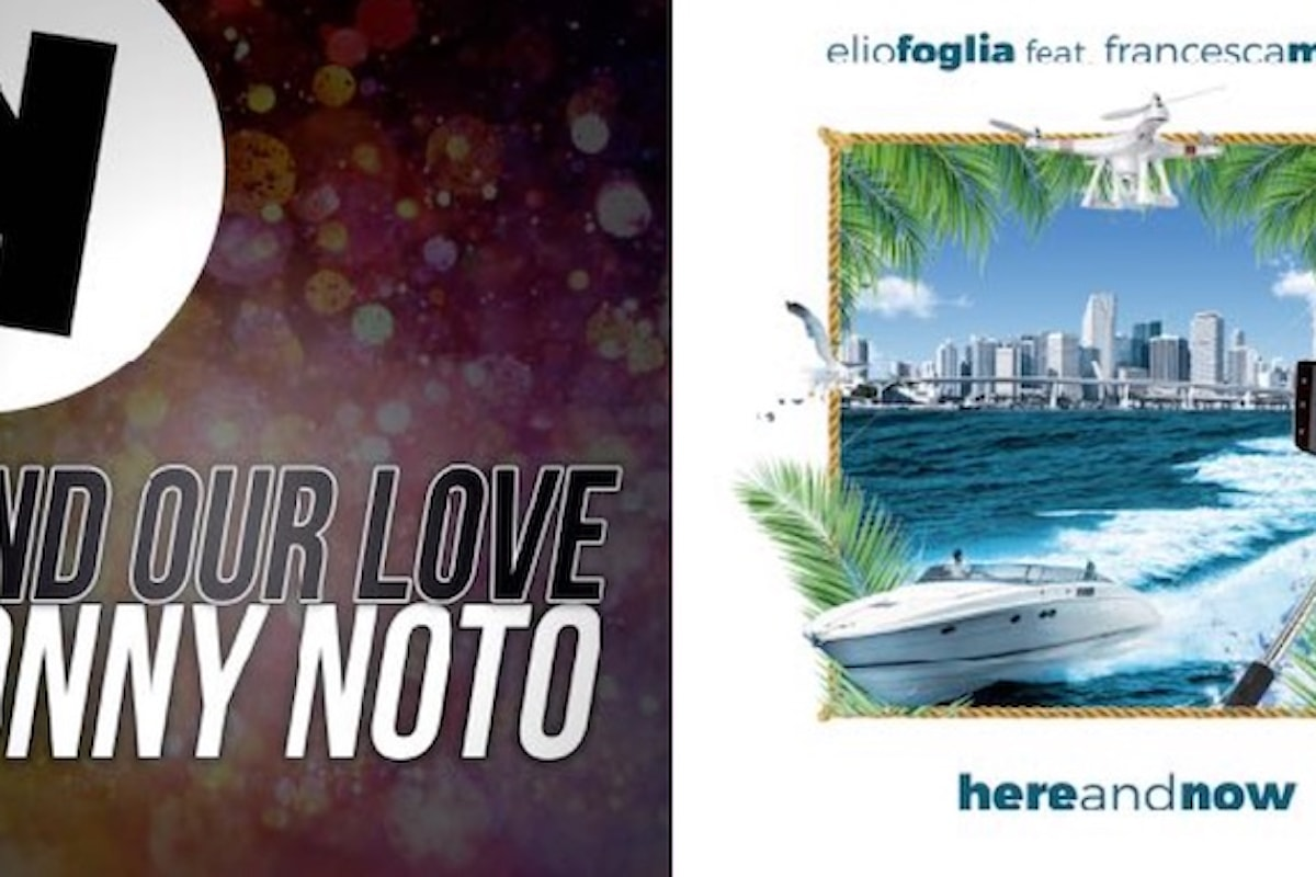 """Keep! Records: Sonny Noto - """"Find Our Love"""" e Elio Foglia feat. Francesca Monte - """"Here and Now"""""""