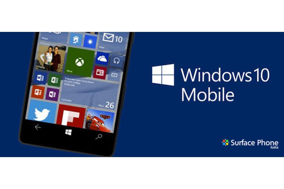 AdDuplex: Windows 10 mobile installato su circa il 10% dei dispositivi Microsoft   Surface Phone Italia
