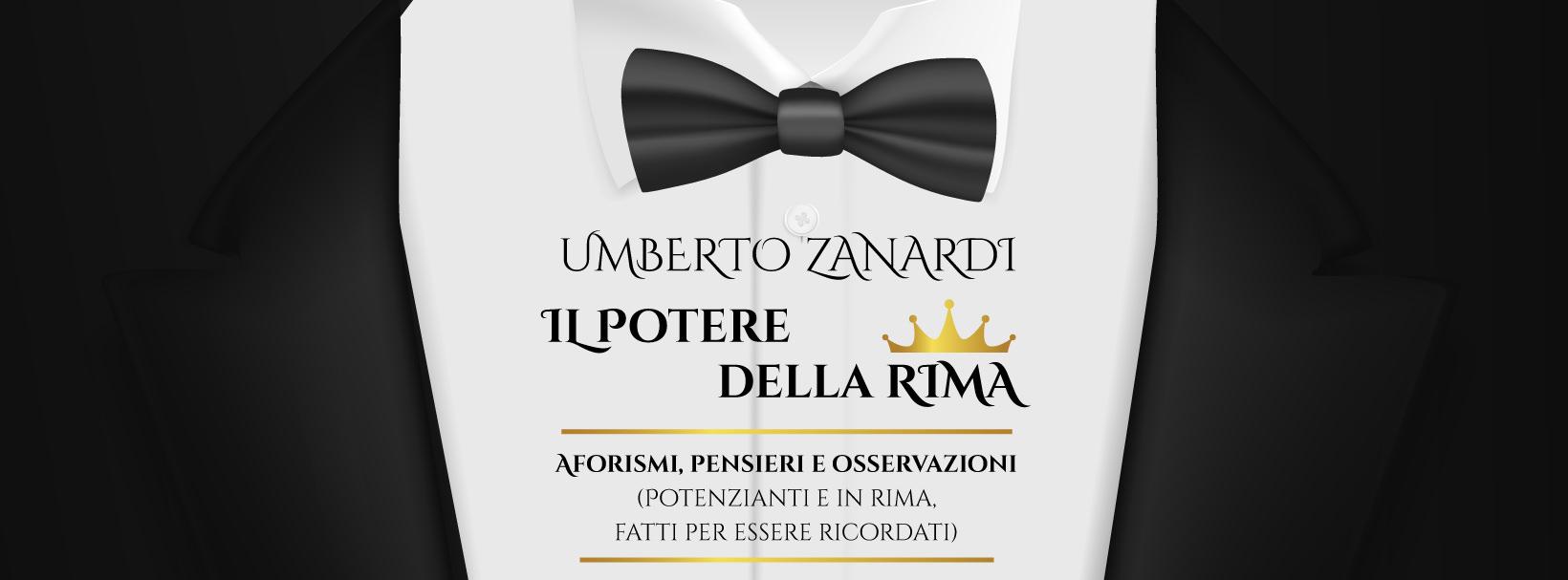 Il Potere della Rima: esce oggi su Amazon il nuovo libro di Umberto Zanardi