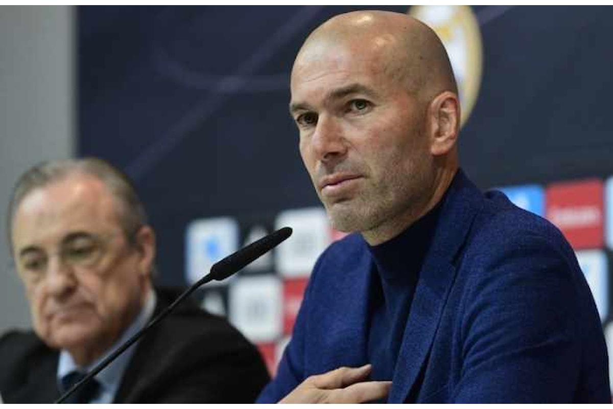 Incredibile, Zinédine Zidane lascia la panchina del Real Madrid