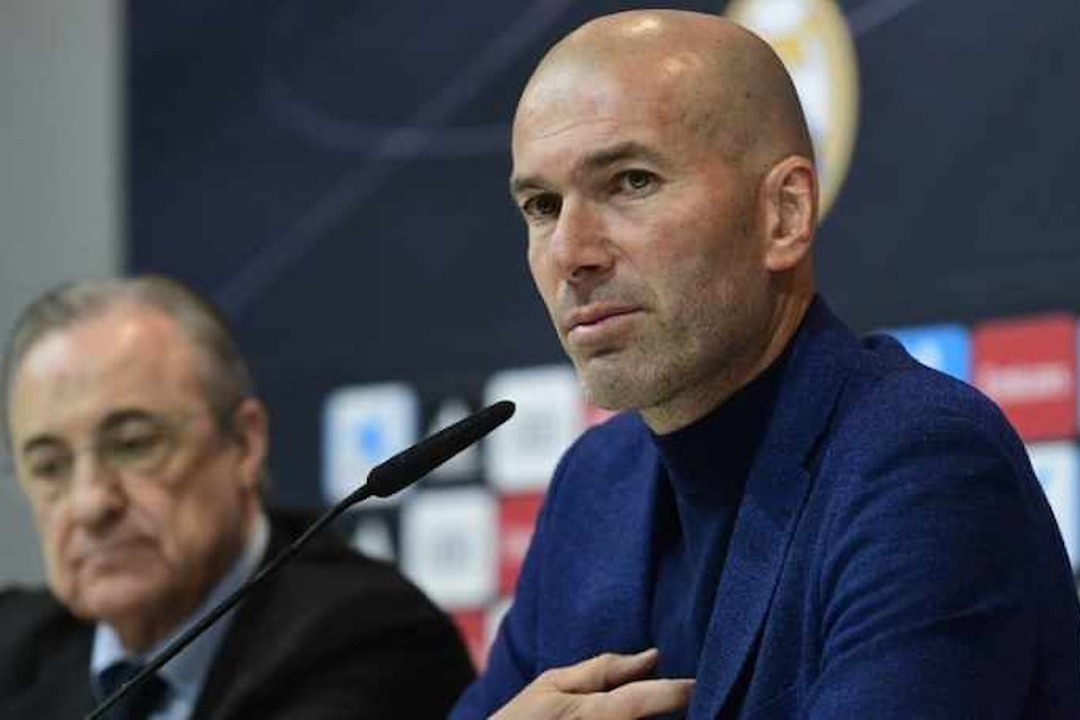 Incredibile, Zinédine Zidane lascia la panchina del Real Madrid