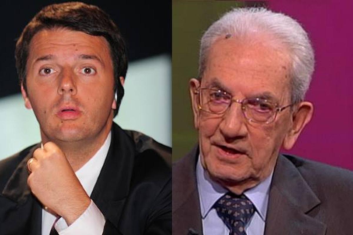 Il confronto tra Smuraglia e Renzi sul referendum costituzionale si terrà il 15 settembre alla Festa dell'Unità di Bologna