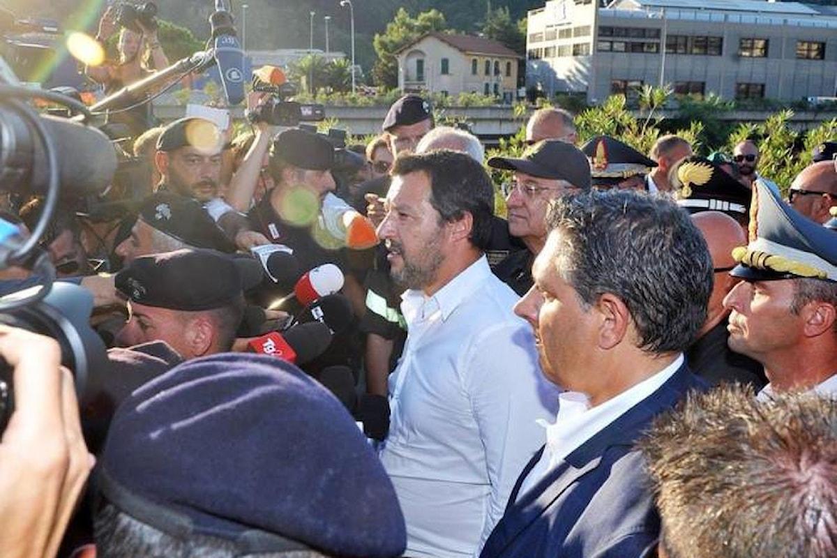 Dopo il ponte Morandi crolla anche Atlantia e la tragedia di Genova diventa un nuovo tema di scontro tra Governo del cambiamento e opposizione