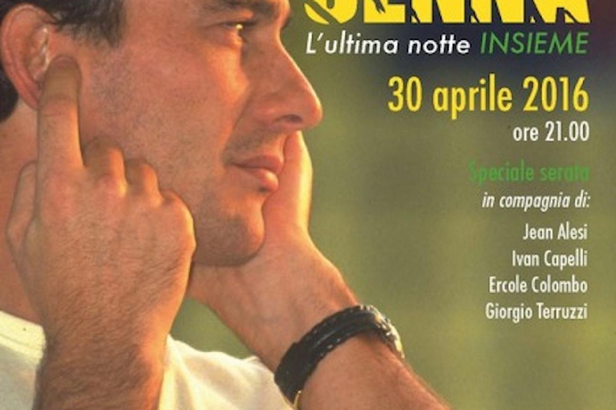 SENNA – L'ultima notte: sabato sera tutti a Monza