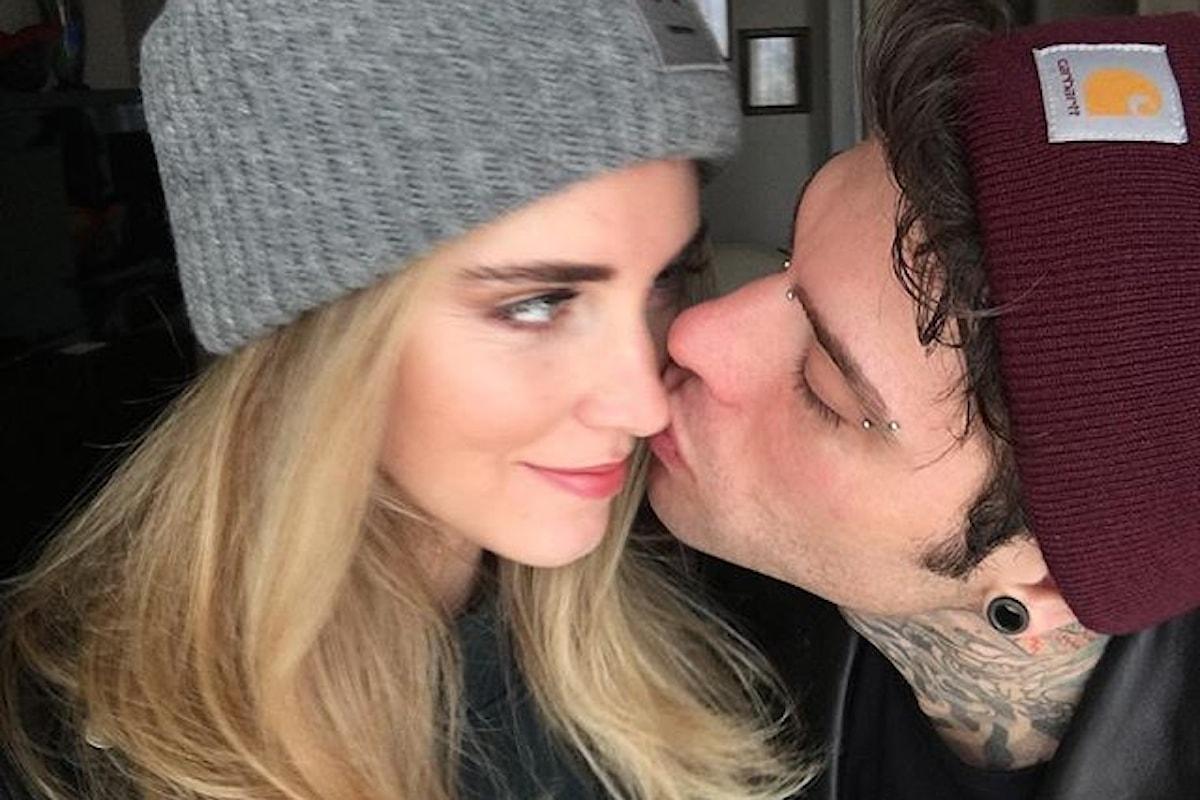 Fedez e Chiara Ferragni, il bacio fraterno su Instagram!