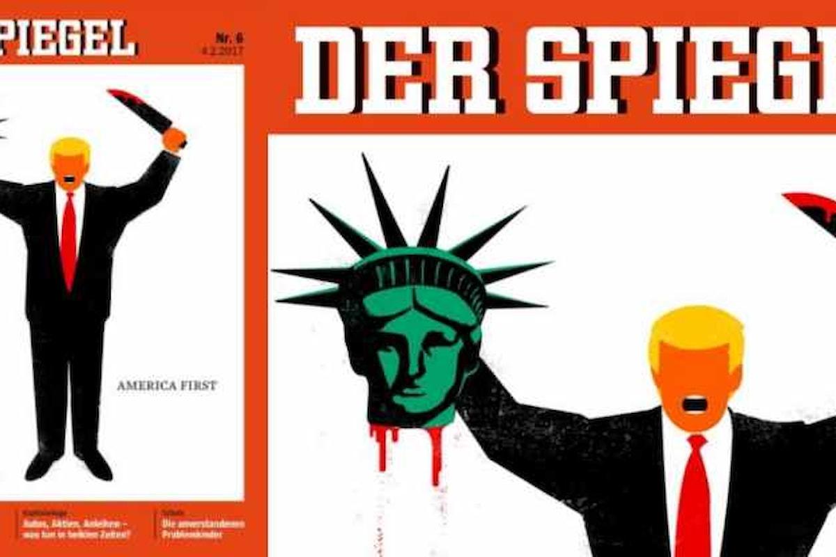 Trump in lotta contro la libertà, come un terrorista