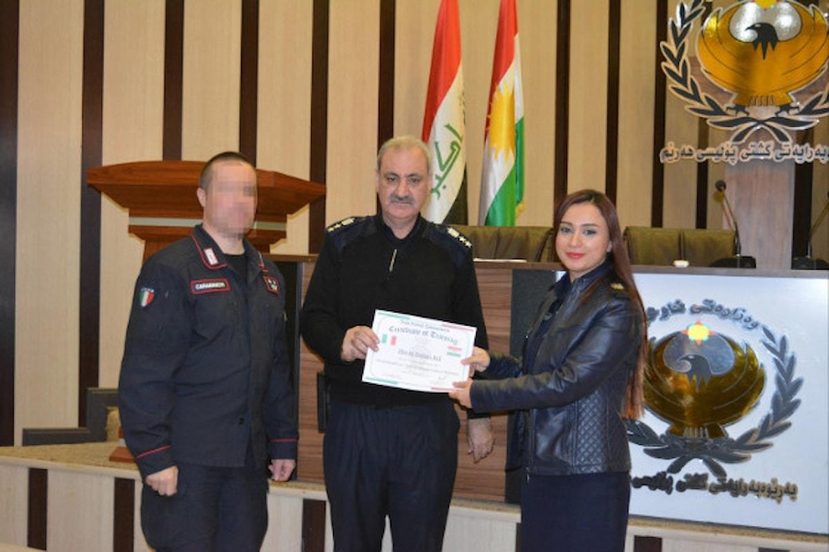 Iraq, Carabinieri terminano corso a favore dei poliziotti iracheni