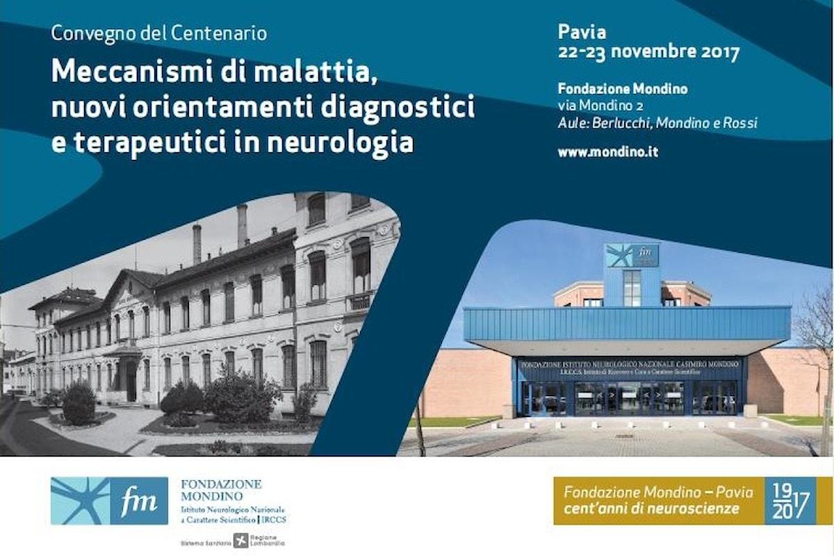 Convegno del centenario della Fondazione Mondino (1917-2017)