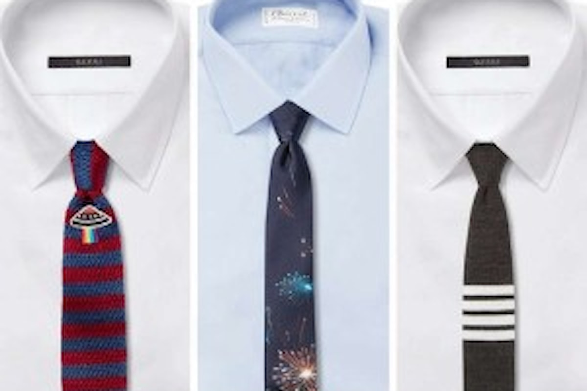 Cravatta uomo, la moda del nuovo anno