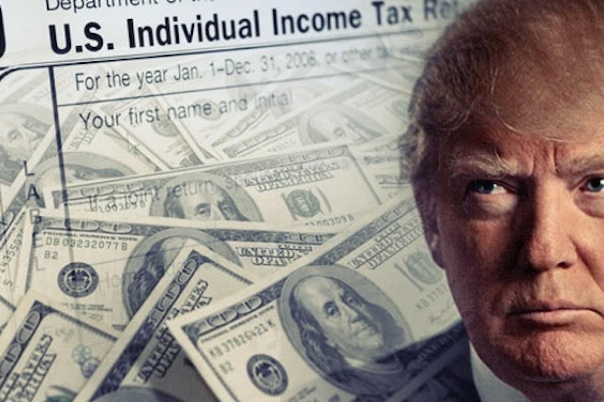 Donald Trump avrebbe evitato di pagare tasse per una ventina d'anni