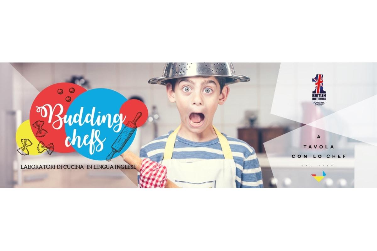 Budding Chefs: laboratori di cucina in lingua inglese