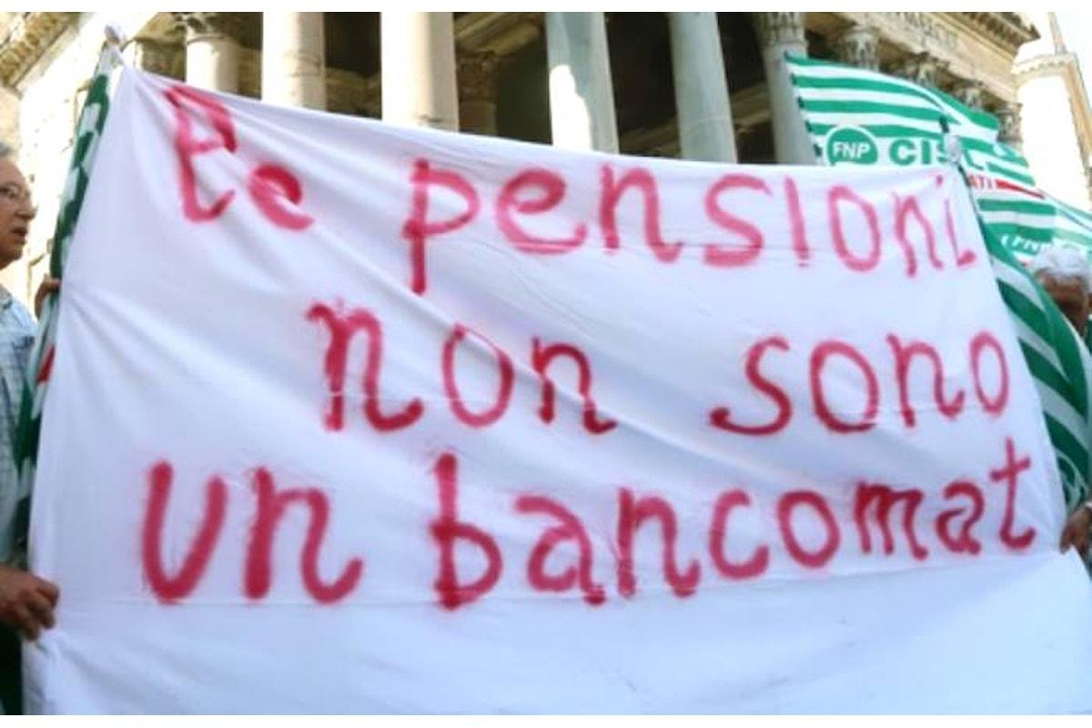Il fastidio dei 5 Stelle per la protesta dei sindacati contro il provvedimento che penalizza le pensioni a partire da 1500 euro