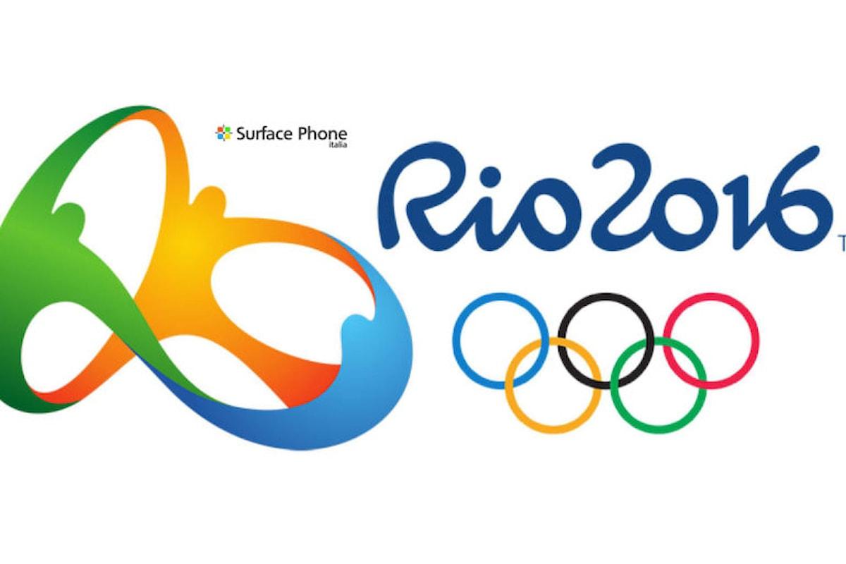 Arriva anche su Windows Store l'app ufficiale delle olimpiadi di Rio 2016   Surface Phone Italia