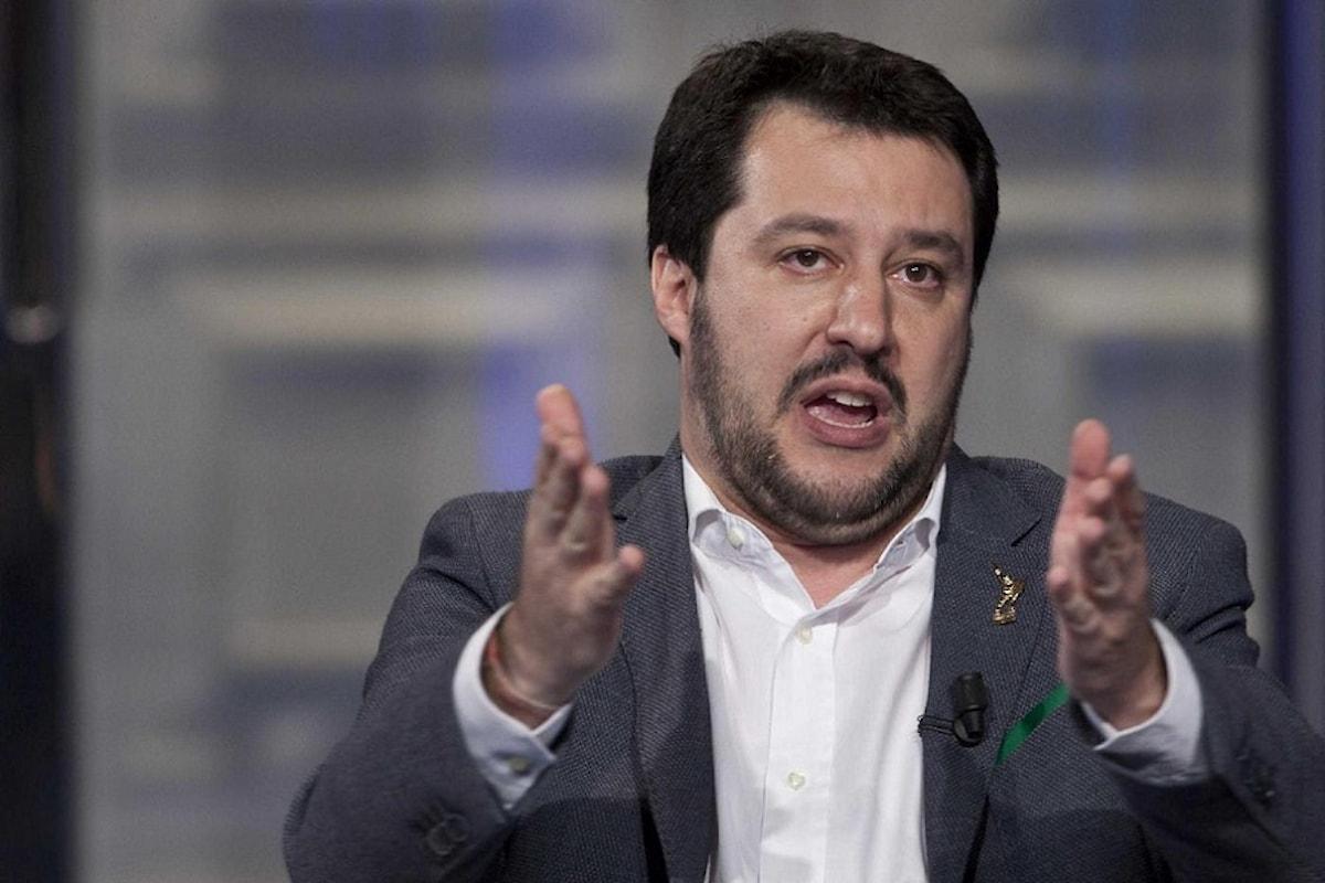 Salvini ad Alfano: Ministro si dimetta!