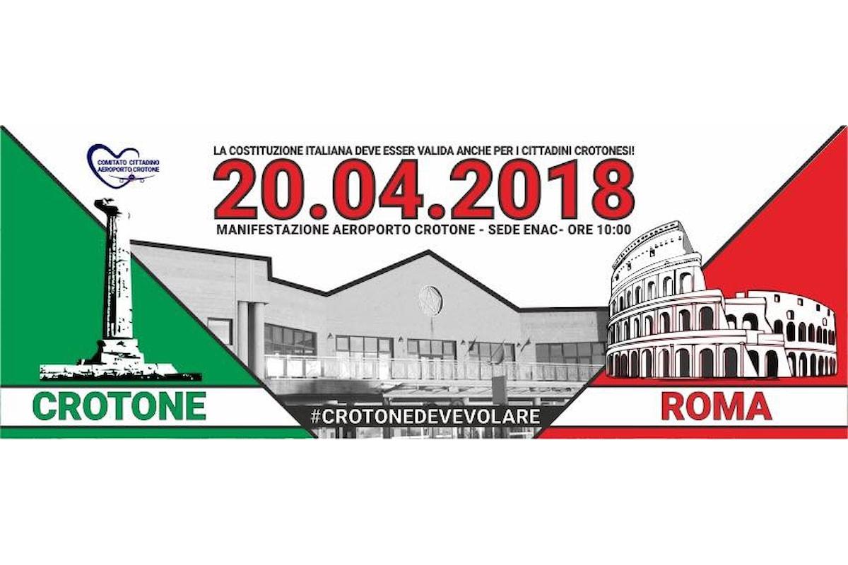 Crotone, il locale Comitato Cittadino contro la chiusura dell'aeroporto: Non accettiamo più scuse