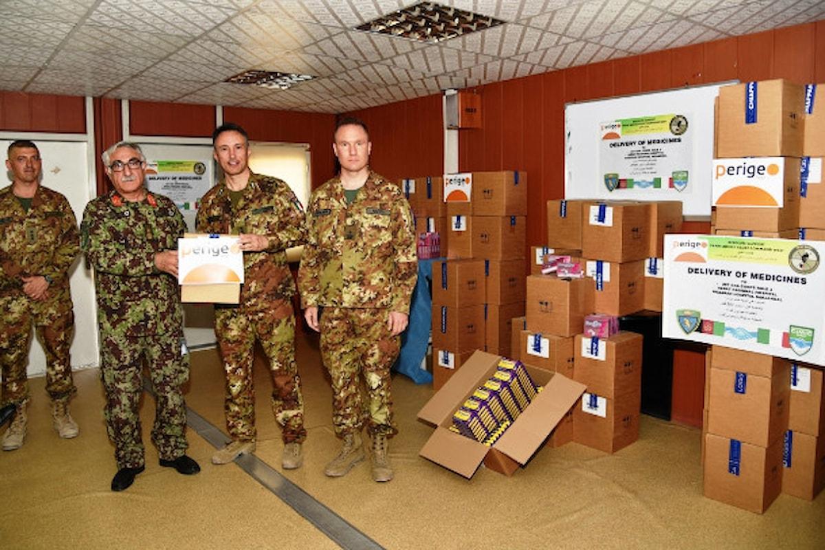 Afghanistan, militari italiani donano farmaci agli ospedali