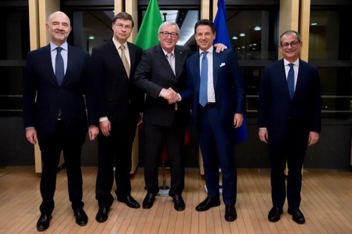 Una cena apparentemente inutile, quella tra Conte e Juncker