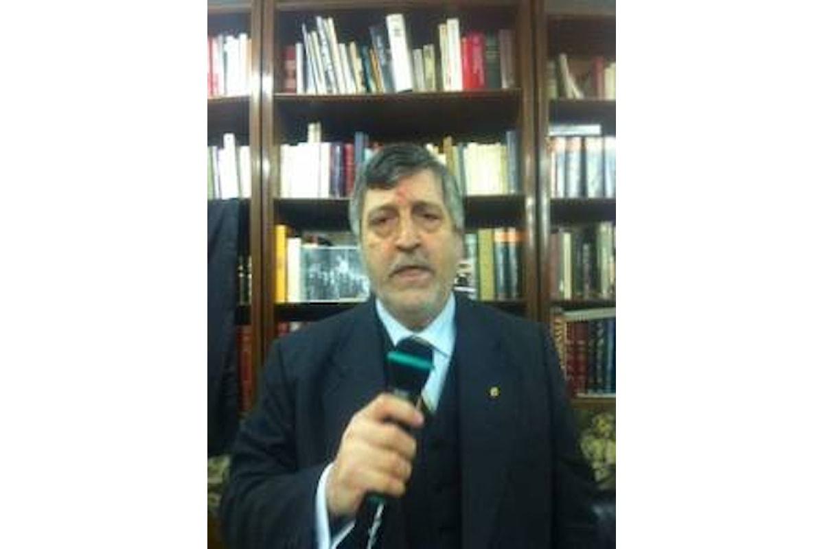 Il Segretario Nazionale del Movimento Sociale FT in visita a Napoli
