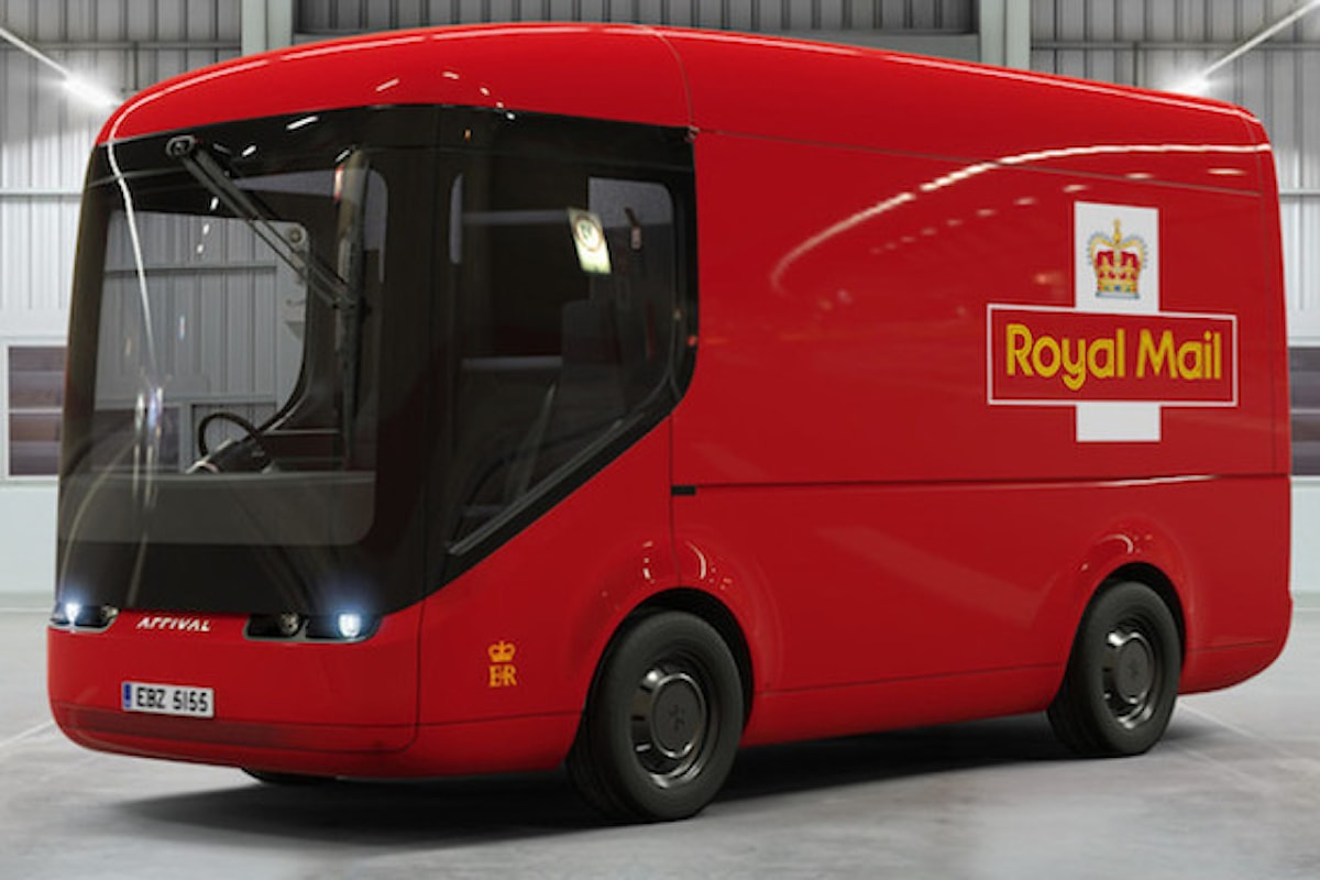 Le poste inglesi acquistano 200 furgoni elettrici